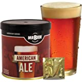 Mr. Beer American Ale 2 Gallon Homebrewing Craft Beer Making Refill Kit with Sanitizer, Yeast and All Grain Brewing Extract Comprised of the Highest Quality Barley and Hops