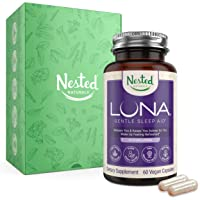 Luna | #1 Sleep Aid on Amazon | Naturally Sourced Ingredients | 60 Non-Habit Forming...