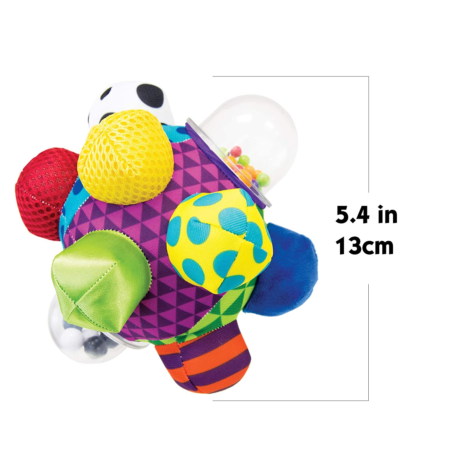 Sassy Developmental Bumpy Ball for Baby/&Toddler romotes Sensory Integration