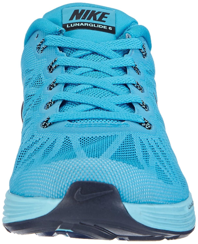 hot sale online c11d2 e9d67 Nike Lunarglide 6, Men Running Shoes, Blue (Blue lagoon black-td pool blue  403), 13 UK (47 EU)  Amazon.co.uk  Shoes   Bags