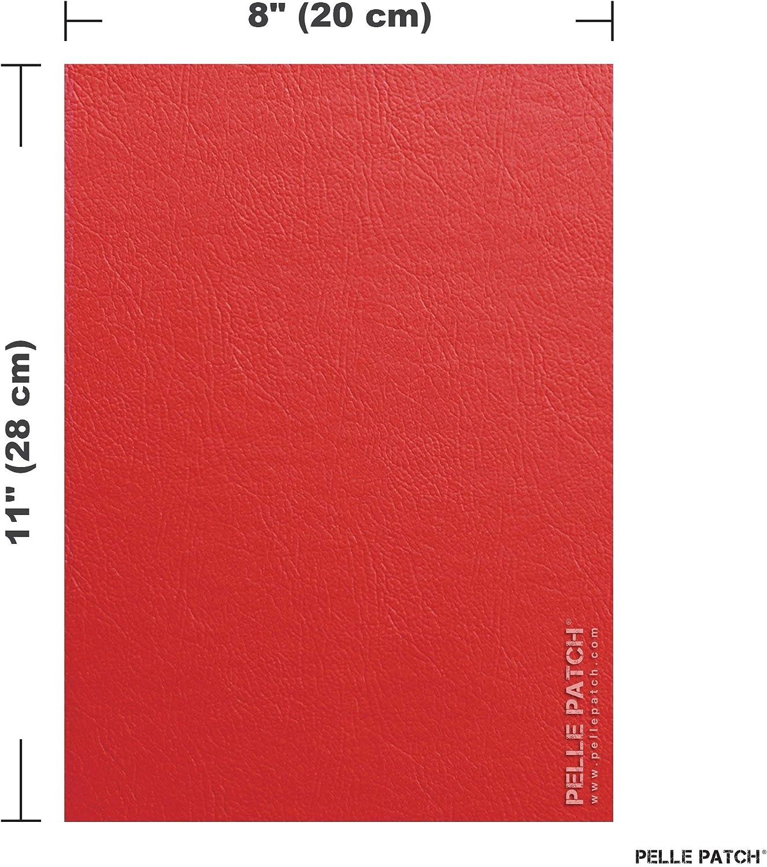 5X Leather /& Vinyl Adhesive Repair Patch Flex 8x11 25 Colors Available Pelle Patch Tan