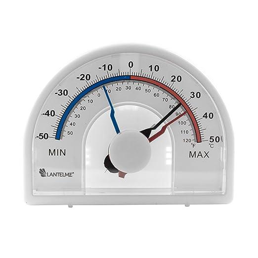 2 opinioni per Lantelme 6539Zeiger Thermometer–Termometro Bimetallico con lancetta Con