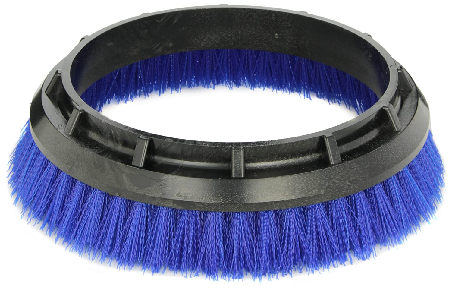 Oreck Commercial 237.058 Crimped Polypropylene Scrub Brush, 12-Inch Diameter, 0.020-Inch Bristle Diameter, for 550MC Orbiter Floor Machine, Blue 237058