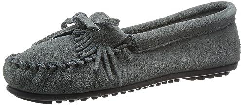 Minnetonka Kilty Suede Moc 403 - Mocasines de Ante para Mujer: Minnetonka: Amazon.es: Zapatos y complementos