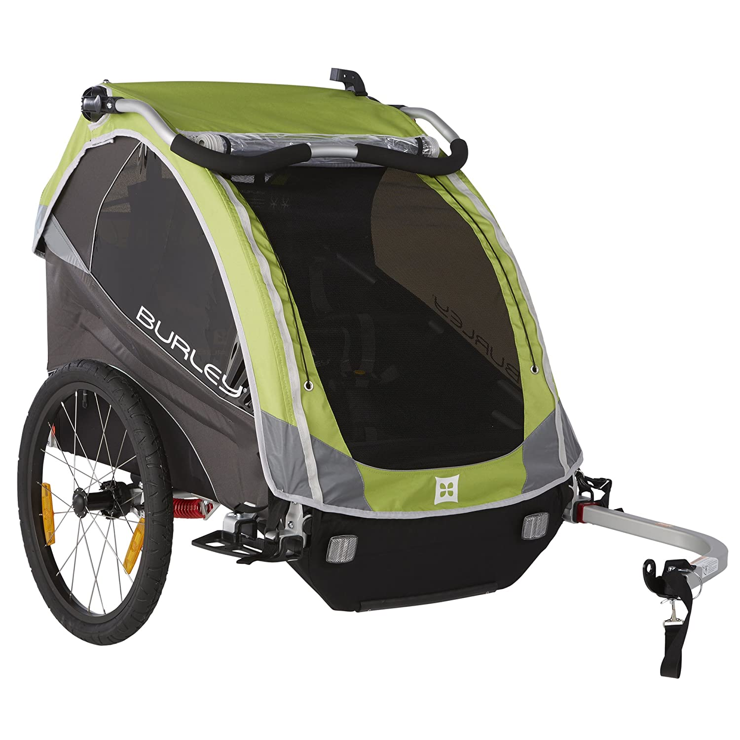 Associated product image for Burley Design D'Lite Child Bike Trailer, Green