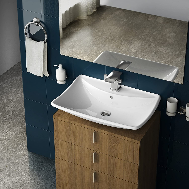 waschbecken mit ablage mx01 hitoiro. Black Bedroom Furniture Sets. Home Design Ideas