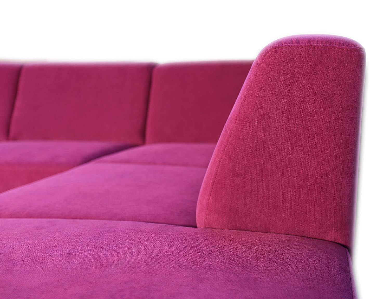 My Home - Sofá de Esquina Cannes - 5 plazas Tejido AquaClean ...