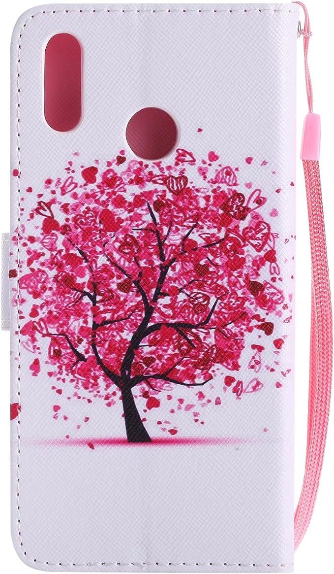 Ougger Cover per Huawei P20 Lite (Nova 3e) Custodia, Albero d'Arte ...
