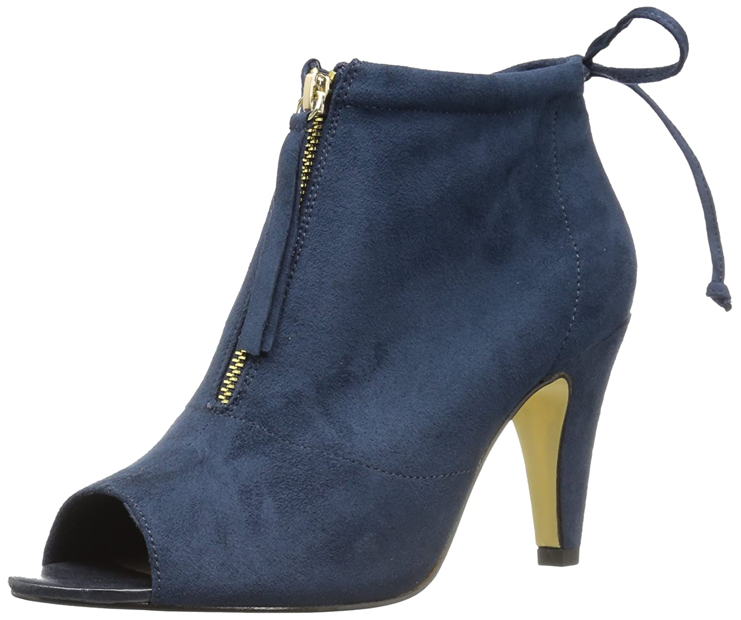 Bella Vita Women's Nicky Ii Ankle Bootie B073NQ2LVJ 7 2W US|Navy Super Suede