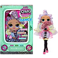 LOL Surprise OMG Dance Dance Dance Miss Royale Fashion Doll with 15 Surprises Including Magic Black Light, Shoes, Hair…