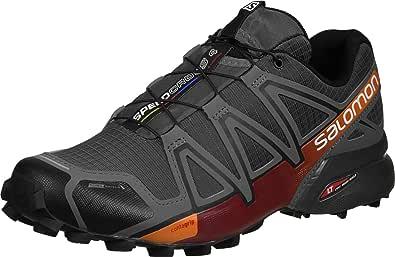 Salomon - Zapatillas para correr en montaña para hombre Autobahn / Detroit / Orange Rust: Amazon.es: Zapatos y complementos