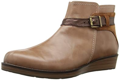 Naot Women's Cozy Ankle Bootie, Beige, ...
