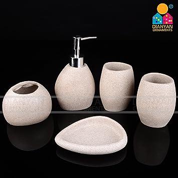 QUEEN\'S Pietra naturale Kit per il bagno di sabbia resina set da ...