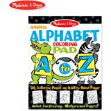 Melissa & Doug Colouring Pad, Animal Alphabet