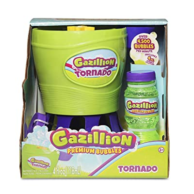 Gazillion Tornado Bubble Machine, GREEN: Toys & Games