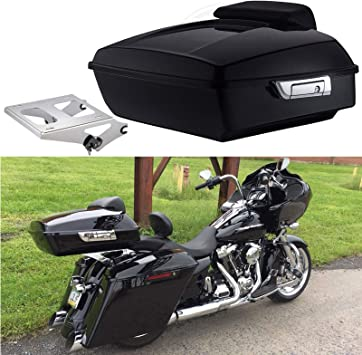 TCMT 2-UP Tour Pak Mounting Rack Fits For Harley Touring Street Glide Road King 2014 2015 2016 2017 2018 2019