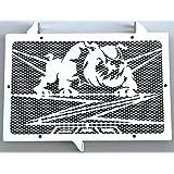 """Kühlerverkleidung Kühlerabdeckung Kawasaki VN1700 /""""Bulldog/"""" design"""
