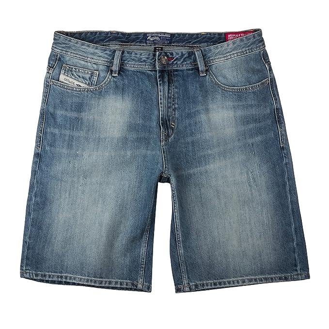 Allsize XXL Réplica Pantalones Vaqueros Usados, Bermuda Inch:38
