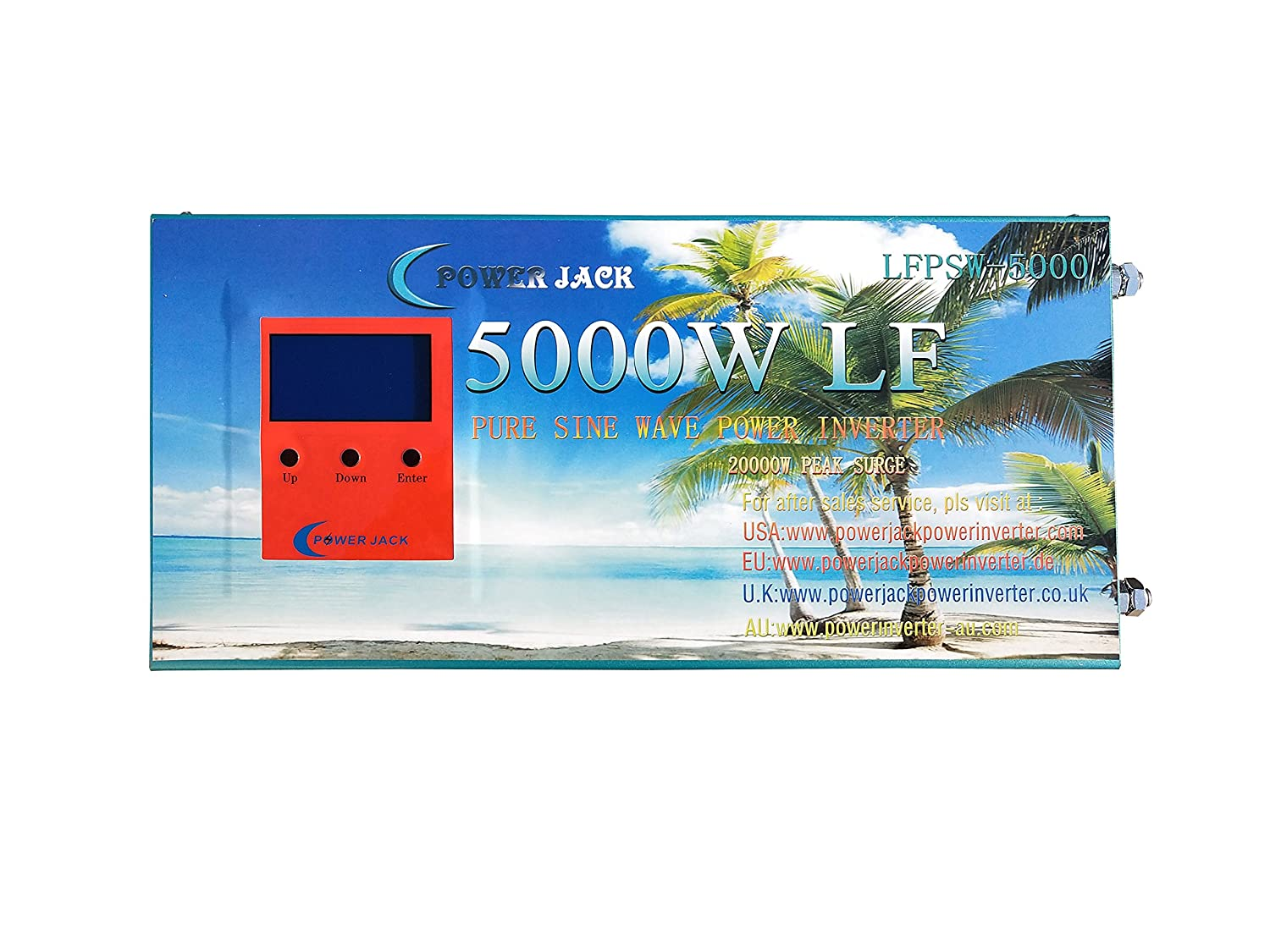 20000w Peak 5000w Lf Pure Sine Wave Power Inverter Dc Circuit Diagram In Addition 12v To Ac 110v With 80a Bc Ups Lcd Display Car Electronics