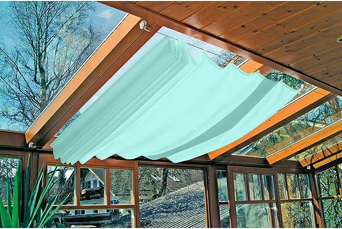 Windhager – Toldo/Toldo para Tecnología de tensión, 270 x 140 cm, Cyanblau: Amazon.es: Jardín