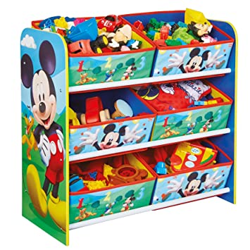 Hellohome Disney Mickey Mouse Enfants Chambre A Coucher Meuble De