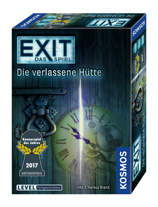 Exit - Das Spiel: Die Verlassene Hüttekennerspiel 2017 - 81mzapogg L - Exit – Das Spiel: Die Verlassene Hüttekennerspiel 2017