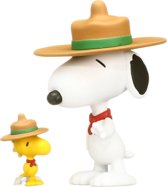 Medicom Peanuts Beagle Scout Snoopy /& Woodstock Ultra Detail Figure