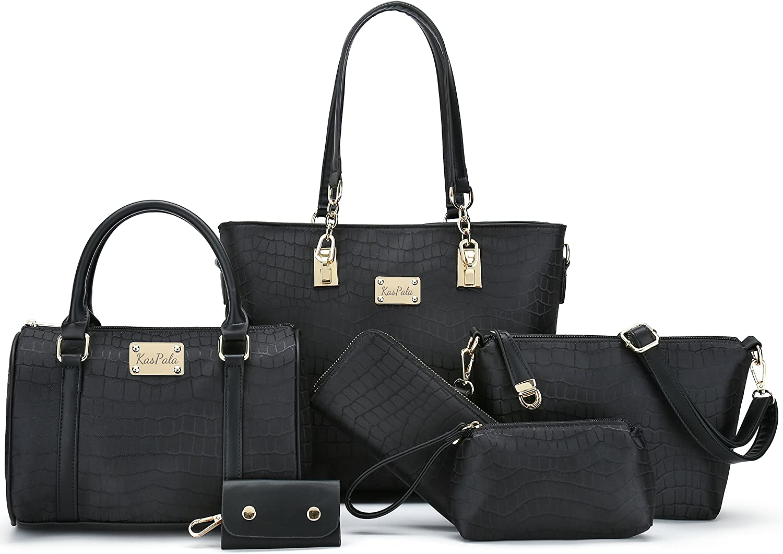 Fashion PU womens bag womens handbag slant bag shoulder bag elegant womens handbag set four pieces