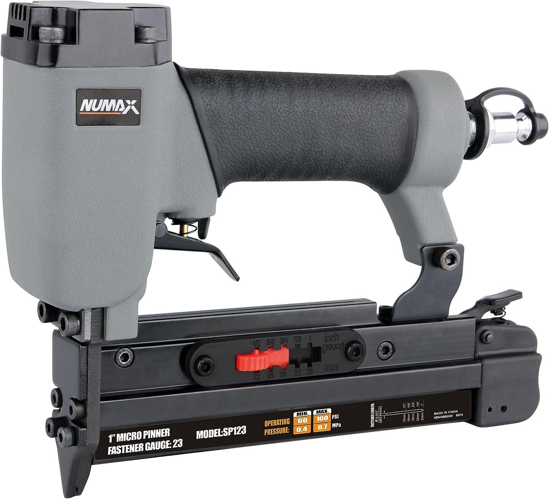 """NuMax SP123 Pneumatic 23-Gauge 1"""" Micro Pin Nailer"""