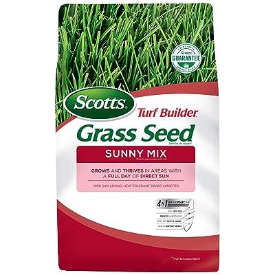Scotts Turf Builder Grass Seed Sunny Mix, 3 lb. : Grass Plants : Garden & Outdoor