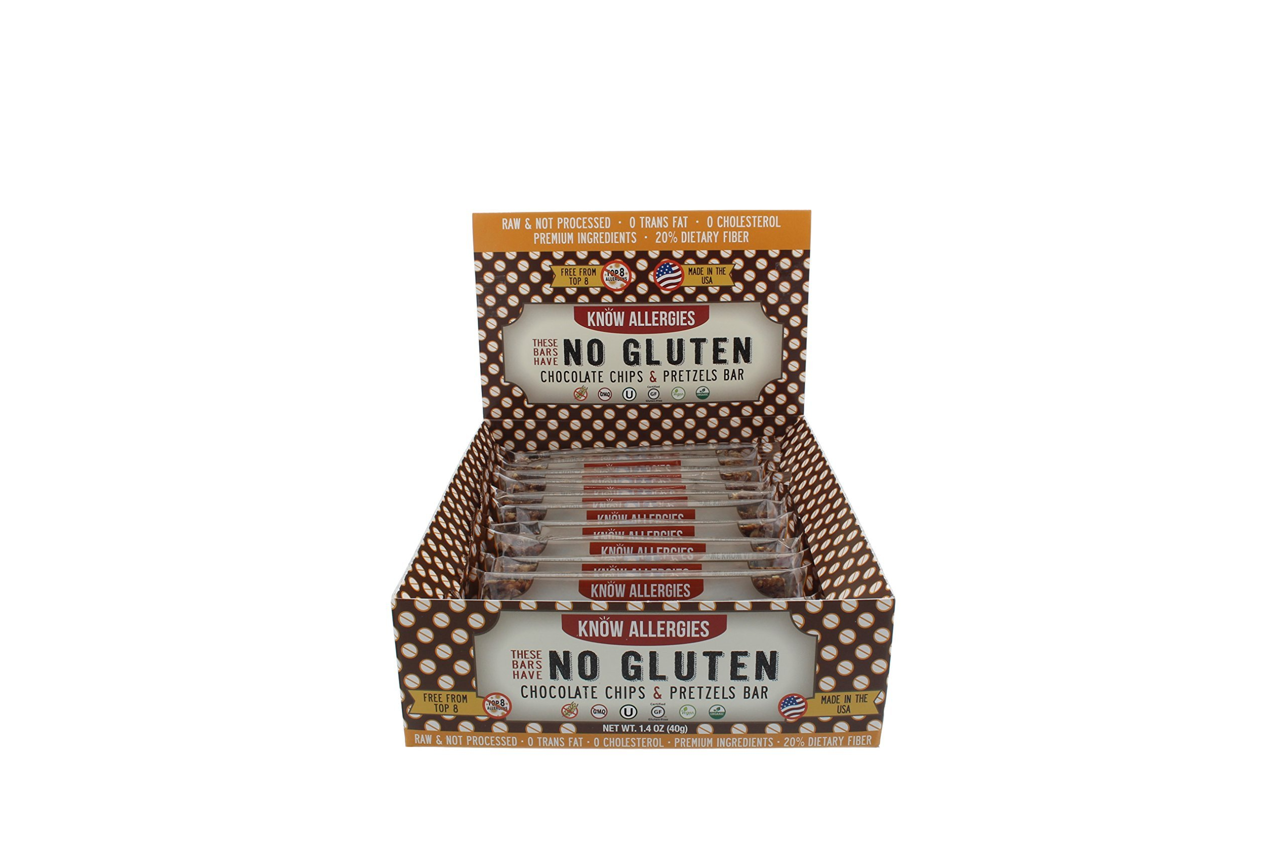 Know Allergies- Chocolate Chip & Pretzel (Pack of 12) by Know Allergies