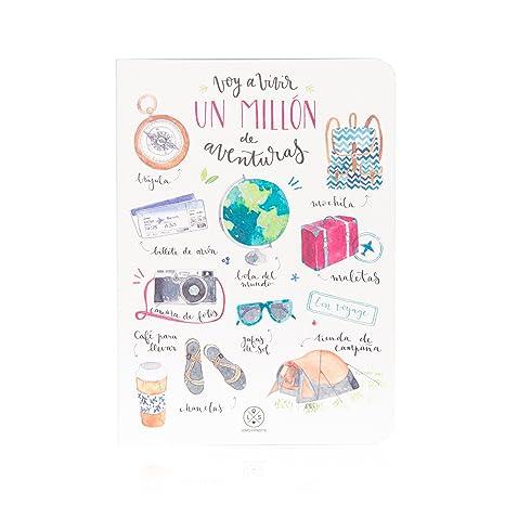 "Amazon.com: Mr. Wonderful - Notebook with ""Voy a Vivir un ..."