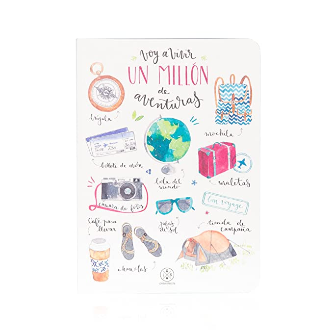"Amazon.com: Mr. Wonderful - Notebook with ""Voy a Vivir un ..."