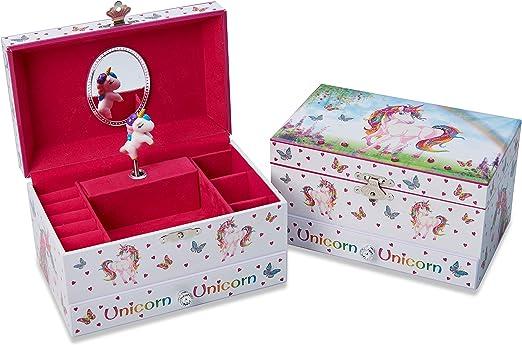 Joyero infantil musical con unicornio mágico de Lucy Locket - Caja ...