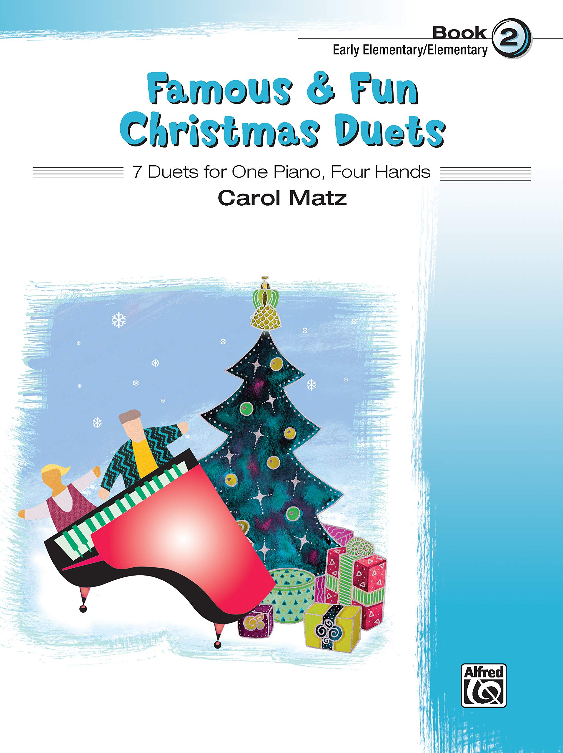 Read Online Famous & Fun Christmas Duets, Bk 2: 7 Duets for One Piano, Four Hands ebook