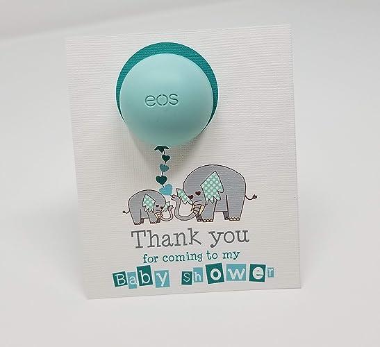 Baby Shower Favors Eos Lip Balm Holder Favors Baby Shower Printable Favor Card