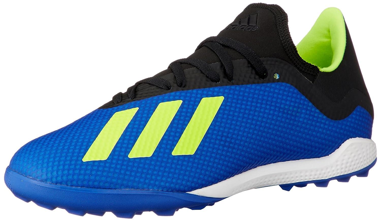 Bleu (Foobleu Amasol Negbás 000) adidas X Tango 18.3 TF, Chaussures de Football Homme 42 EU