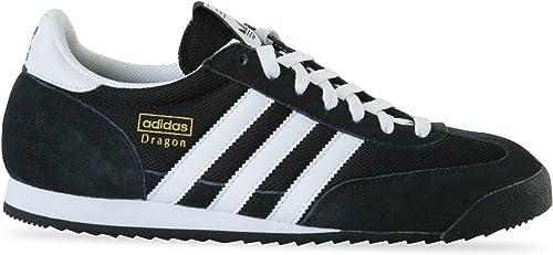 Aplicando Recoger hojas periodista  adidas Dragon Black/White for Men: Amazon.co.uk: Shoes & Bags