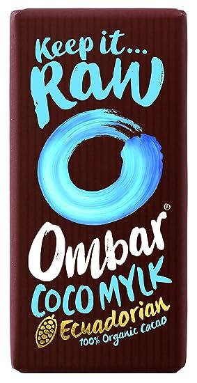 Ombar - Chocolate negro ecológico con leche de coco - Cacao crudo - 35 g