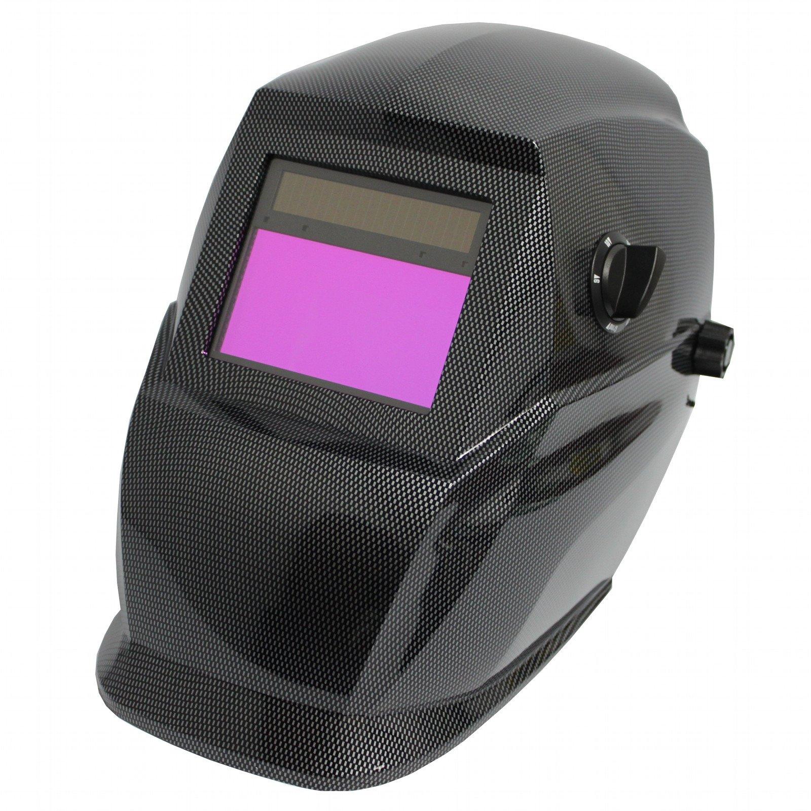 1f7ccc2480f47 Antra Solar Power Auto Darkening Welding Helmet with Viewing Size  3.78