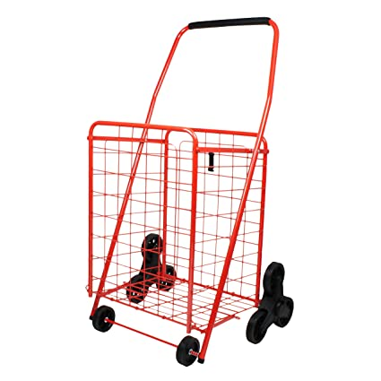 34562c5eacb7 Helping Hand 3 Wheel Stair Climbing Cart Red