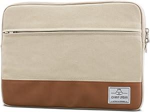 Laptop Sleeve 13-13.3 Inch Sand - Johnny Urban Canvas Notebook Case
