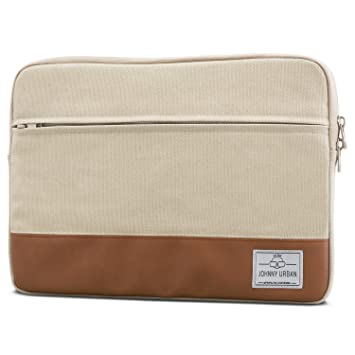 "86f68f71c9 Housse Ordinateur Portable 14 Pouces/MacBook Pro 15"" Beige - Johnny  Urban Sac en"