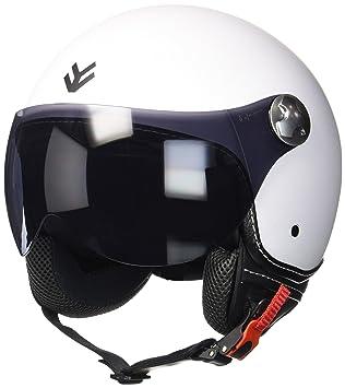 """Armor · AV-84 """"Matt White"""" (white) · Casco moto Demi"""