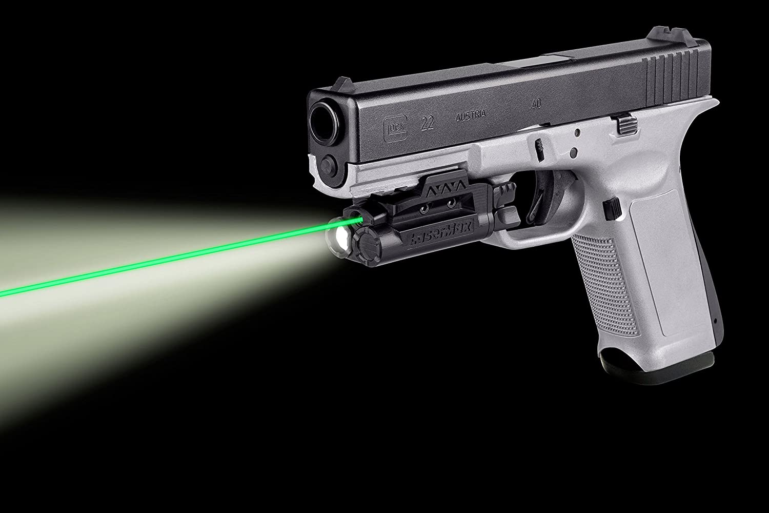 Rail Mounted Light//Laser Requires at least 1 3//4 of rail space Green