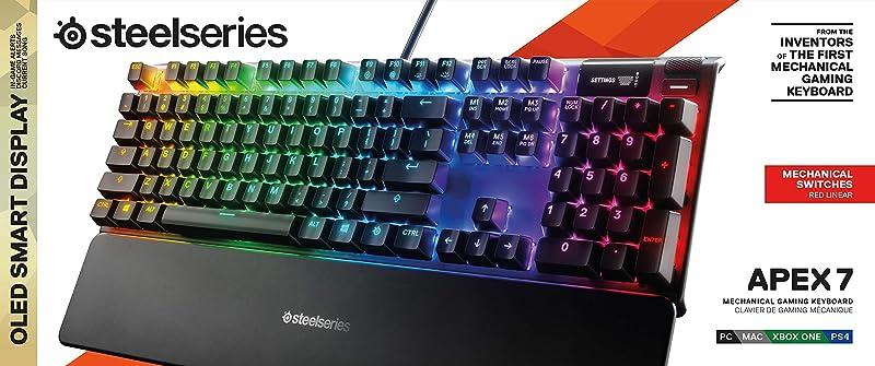 SteelSeries Apex 7 Mechanical Gaming Keyboard 2