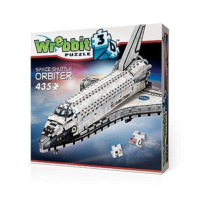 WREBBIT 3D Space Shuttle Orbiter 3D jigsaw puzzle (435-piece): Toys & Games [5Bkhe0504922]