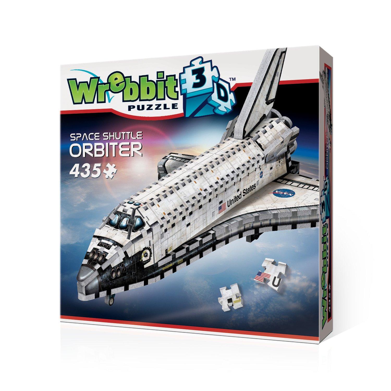 Wrebbit 3D Space Shuttle Orbiter 3D jigsaw puzzle (435-piece) SPASH