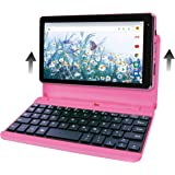 RCA Voyager Pro+ [RCT6876Q22K00] 7 Inches 2GB RAM 16GB Storage with Keyboard Case Tablet Android 10 (Go Edition) (Pink)