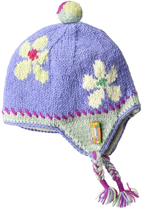 b054edf8350 Image Unavailable. Image not available for. Color  Everest Designs Girls  Flower Child Earflap